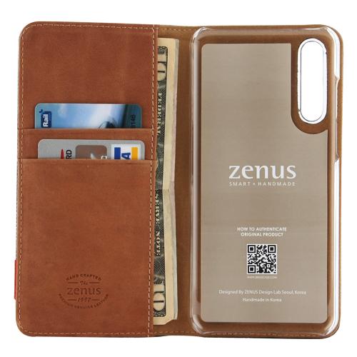 HUAWEI P20 Pro ケース 手帳型 ZENUS Denim Stitch Diary(ゼヌス デニムステッチダイアリー)ファーウェイ カバー HW-01K ドコモ