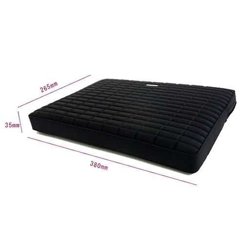 A103-5B おしゃれなエンボスタイプのネオプレンケース!<br>abbi MacBook Pro15インチ用 ネオプレンインナーケース ブラック