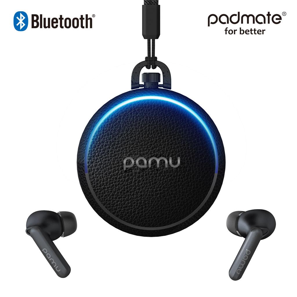 Padmate ノイズキャンセリング 完全ワイヤレスイヤホン PaMu Quiet [ Bluetooth 5.0 IPX4防水 cVc8.0 マイク付き ワイヤレス充電 Qi対応 aptX AAC 対応 超軽量 5g ] PM20297
