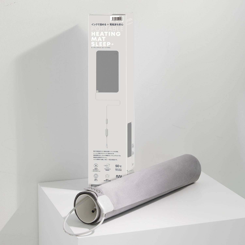 INKO Heating Mat Sleep+ (インコ ヒーティングマット スリーププラス)[ 電磁波カット 薄さ1.5mm 12時間で自動オフ 4段階温度調節 ]