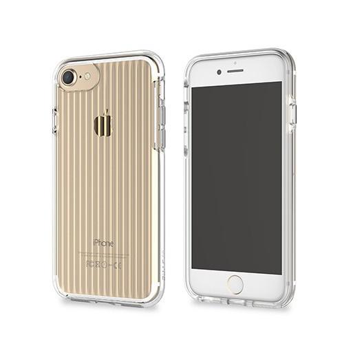 iPhone SE 第2世代 se2 ケース iPhone 8/7ケース カバー STI:L CLEAR WAVE(スティール クリアウェーブ)アイフォン セブン クリアケース バータイプ & iPhone6/6s 対応