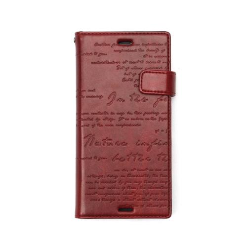 Xperia XZs / Xperia XZ ケース カバー 手帳型 ZENUS Lettering Diary(ゼヌス レタリングダイアリー)エクスペリア エックスゼット SO-01J SOV34 601SO