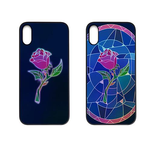 iPhone XS / X ケース Dparks Twinkle Case ステンドグラス(ディーパークス トゥインクルケース)アイフォン カバー ホログラム