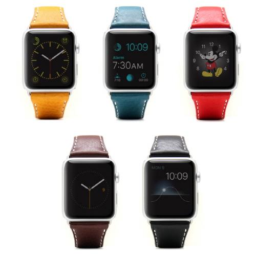 Apple Watch バンド アップルウォッチ Series 1/ 2/ 3 (42mm)、Series 4/ 5 (44mm)対応 D6 IMBL(ディーシックス アイエムビーエル)アップルウォッチ 時計用ベルト・バンド アップル ウォッチ 本革 APPLE ウェアラブル端末 スマートウォッチ