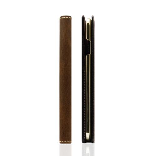 iPhone6s ケース 手帳型 SLG Design Badalassi Wax case(エスエルジーデザイン バダラッシワックスケース)アイフォン iPhone6