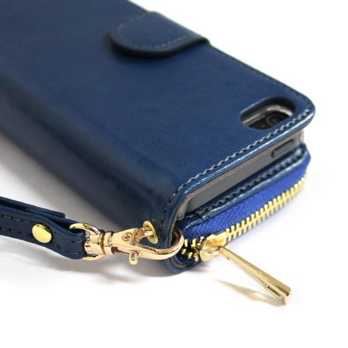 iPhone SE ケース 手帳型 Dreamplus Zipper お財布付きダイアリー(ドリームプラス ジッパー)アイフォン se/5s/5用 iPhone SE/5s/5