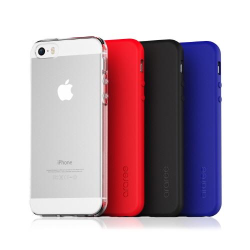 iPhone SE ケース カバー araree Airfit(アラリー エアーフィット)アイフォン se/5s/5用 iPhone SE/5s/5