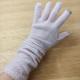贅沢なカシミヤ100%の天竺とワッフロ編みの手袋