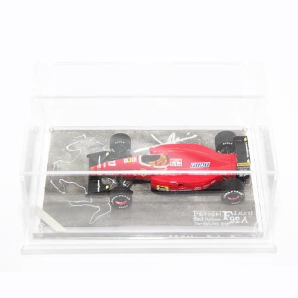 1/43  フェラーリ F92A  1992年スペインGP 『JoeTakayasu』 モデルカー インテリア ビンテージカー