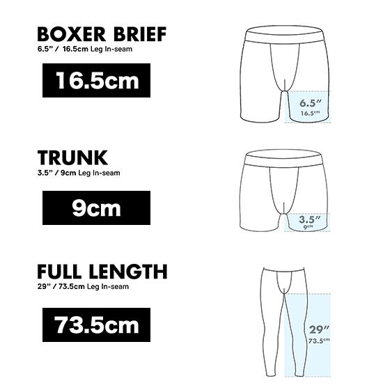 ENTOURAGE BOXER BRIEF/ BLACK/WHITE