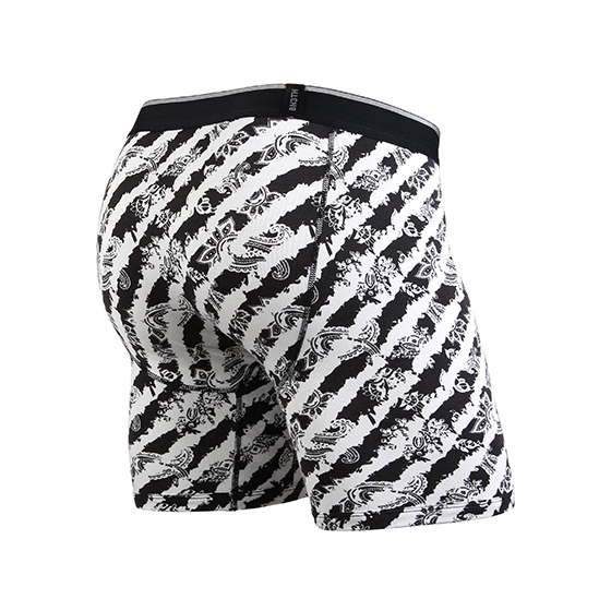 【SALE】CLASSIC BOXER BRIEF PRINT / PAYS LEE BLACK