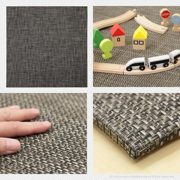 《PVC/全4種類》PVC 置き畳 1枚 縁なし/半畳/正方形
