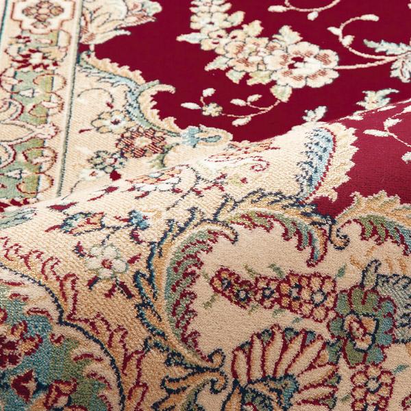 ラグ カーペット  グラン 14668 約195×250cm【約3畳】絨毯 高級 洋風 おしゃれ 応接室 レーヨン モケット織
