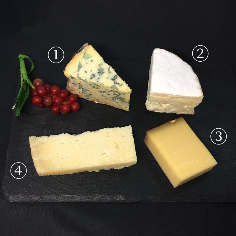 泡から白ワイン・赤ワインまで楽しめるチーズセット