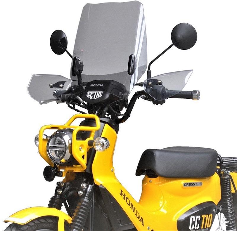 旭風防 ウインドシールド CUB-03-C 新型クロスカブ110[JA45]専用 クリアー
