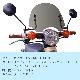 【デラックス・スタンダード用】 アウトスタンディング ショートバイザー SV-DX-STD-01S グレースモーク