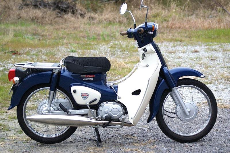 昭和スポーツマフラースーパーカブ110/50(JA44/AA09型用)