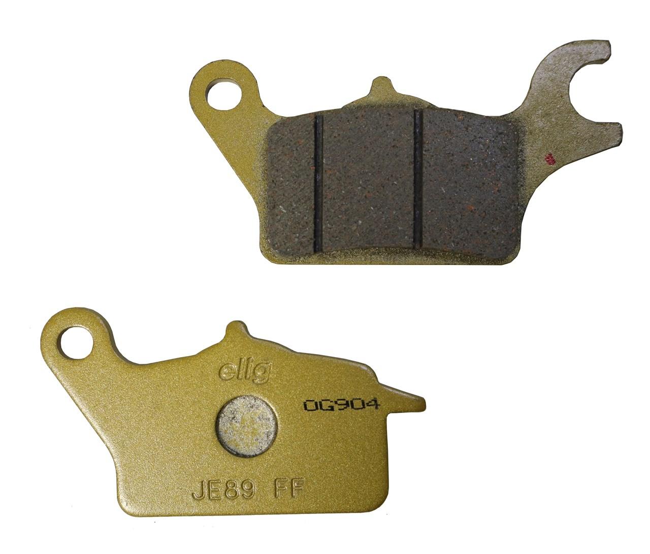 【ELIG】JA48(C125)用 セラミックメタルブレーキパッド