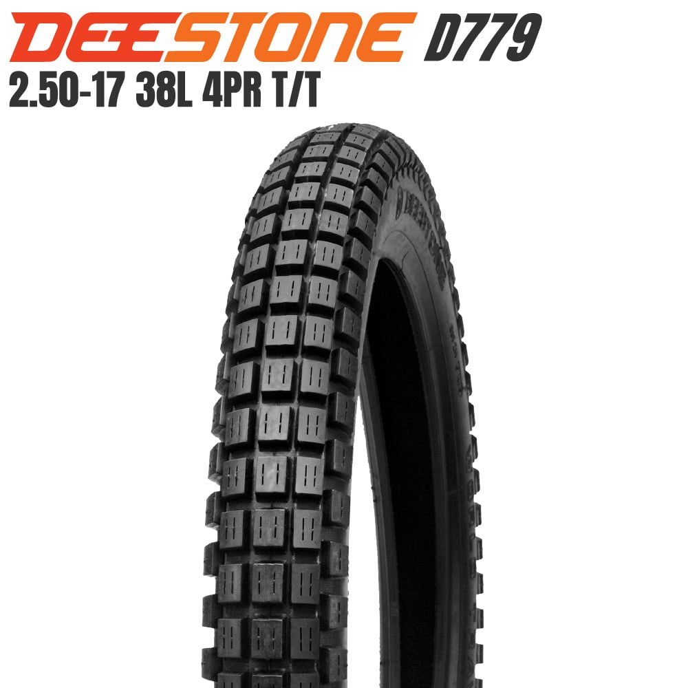 DEESTONE D779 ブロックタイヤ 2.50-17