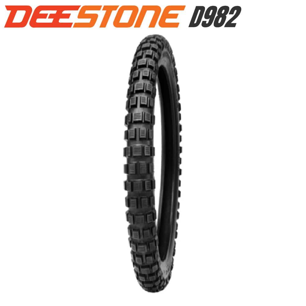 DEESTONE D982 ブロックタイヤ 2.25-17