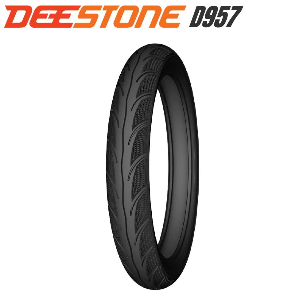 DEESTONE D957 ドライ&ウエットタイヤ 80/90-17