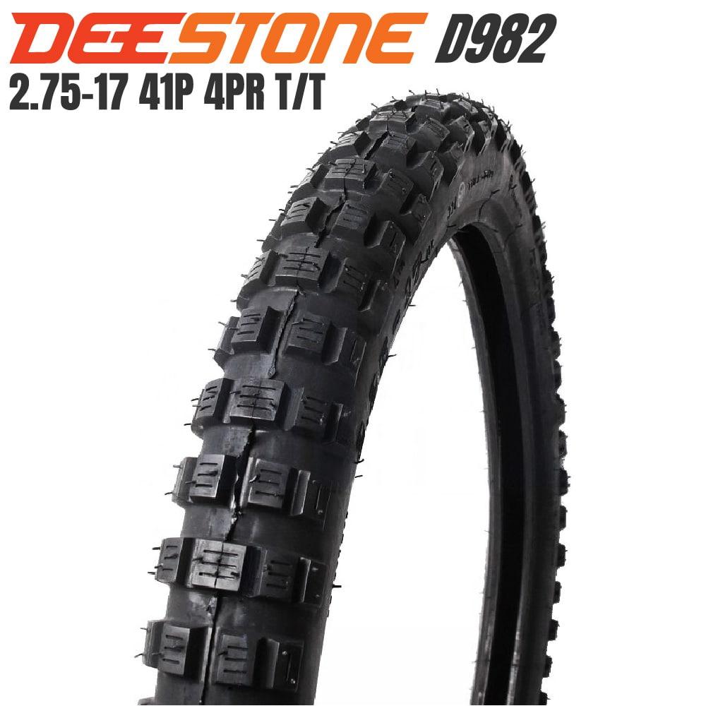 DEESTONE D982 ブロックタイヤ 2.75-17