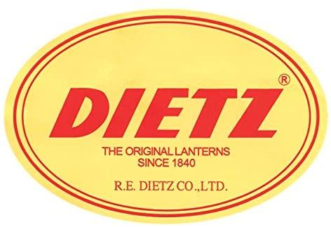 Dietz デイツ No.20 ハリケーンランタン オイルランプ ブラック×ゴールド  Oil Lamp Burning Lantern