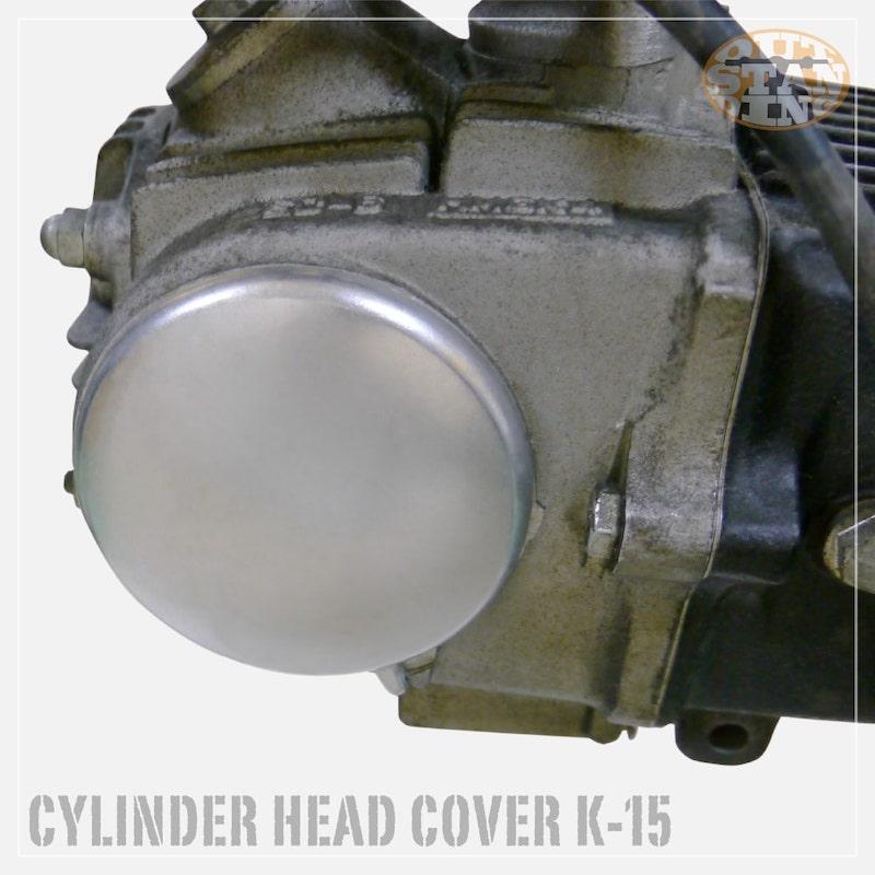 「K-15」 L側シリンダーヘッドカバー・アルミ
