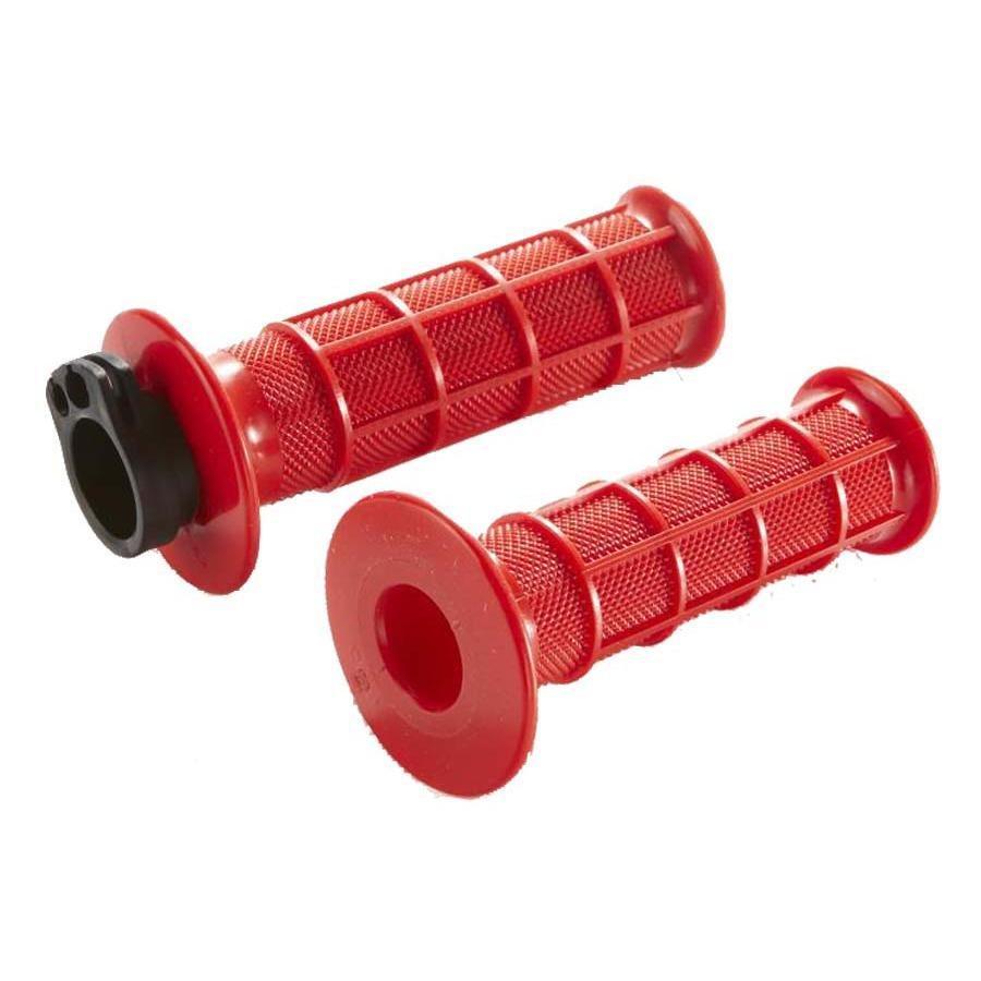 ハンターカブ125(JA55 CT125】専用 H2C ハンドルグリップレッド(赤)