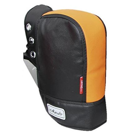 ヤママルト 防寒ハンドルカバー[F1SM-3650] 汎用 オレンジ