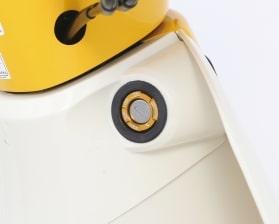 キタコ■アルミキーボックスカバー タイプ2・ゴールドアルマイト[556-1000270]