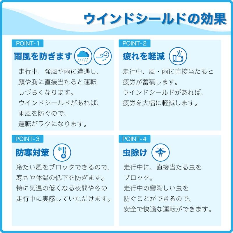 【スーパーカブ JA48(C125)専用】アウトスタンディング <br>メーターバイザー MV-JA48-B クリアブルー