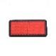 汎用リフレクター 赤 四角 両面テープ 56x25mm