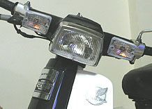 【B級品】「R-03A-B」 カスタム用クリアウィンカーレンズセットのB級品