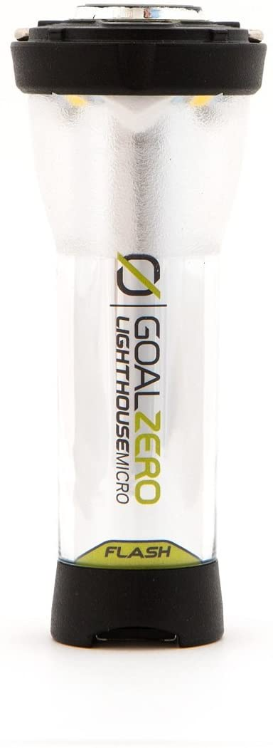 Goal Zero LIGHTHOUSE micro FLASH USB充電式LEDミニランタン 150ルーメン 防水 懐中電灯付