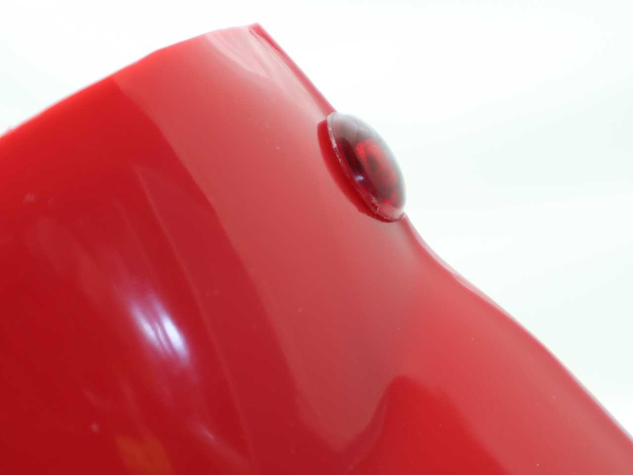 C100など用 ヘッドライトケース用 パイロットランプ・赤