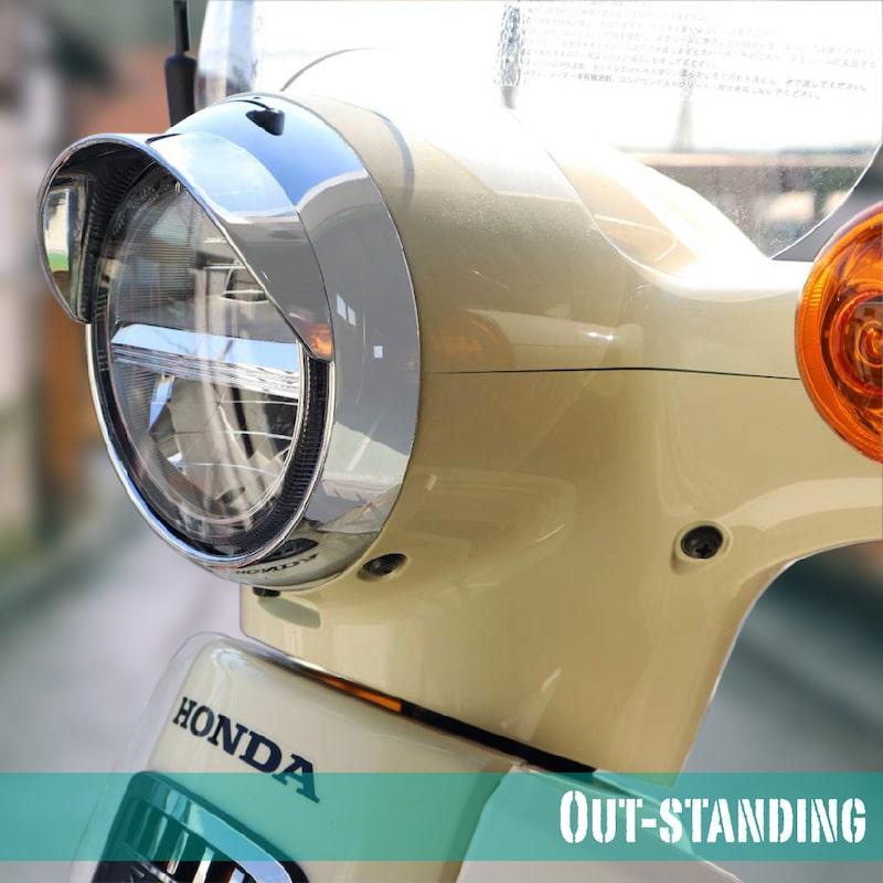 【アウスタオリジナル】ヘッドライトウイングキャップカバー  JA44 AA09 JA45 AA06