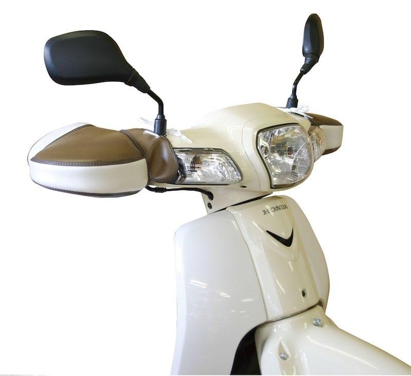 ○ヤママルト 防寒ハンドルカバー[F1-3000] 汎用 ブラウン