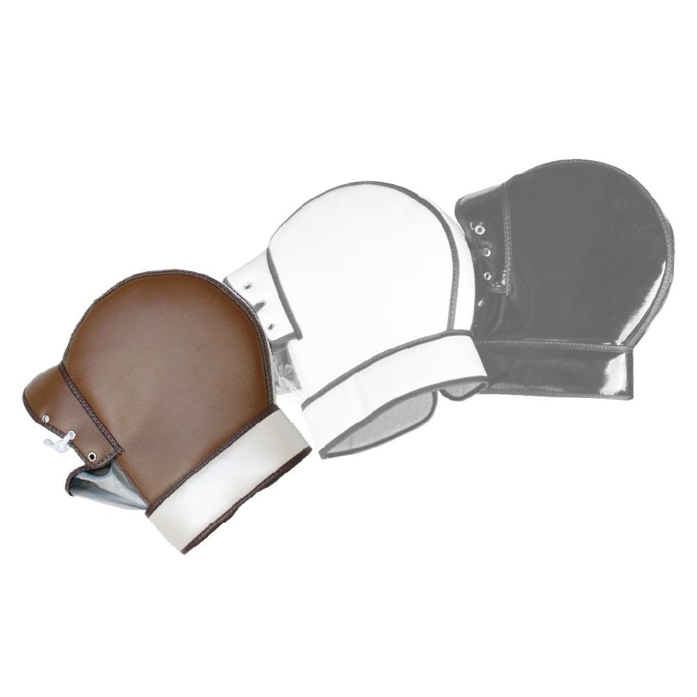 ヤママルト 防寒ハンドルカバー[F1-3000] 汎用 ブラウン