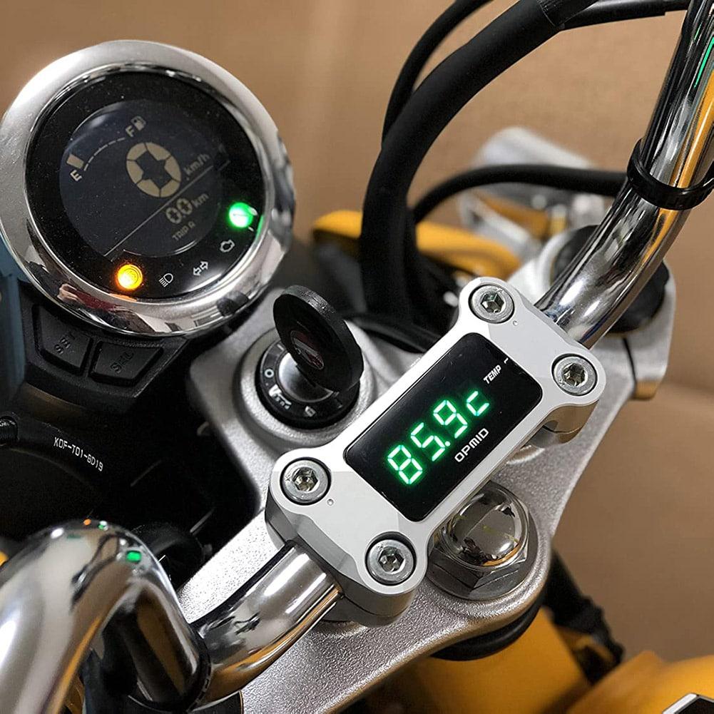OPM トップインジケーター サーモメーター ブラック  モンキー125・CT125