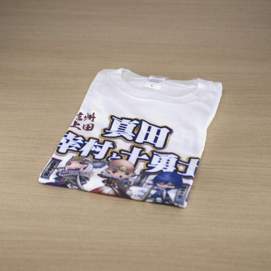 真田幸村と十勇士ホワイトTシャツ (子ども)
