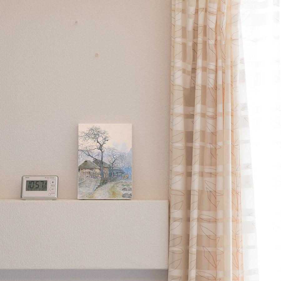 丸山晩霞プリントキャンバス「祢津風景」FSMサイズ