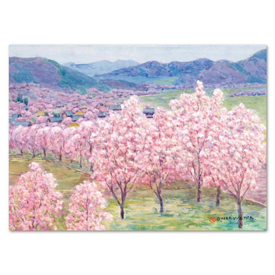 丸山晩霞ブランケット「杏花の里」