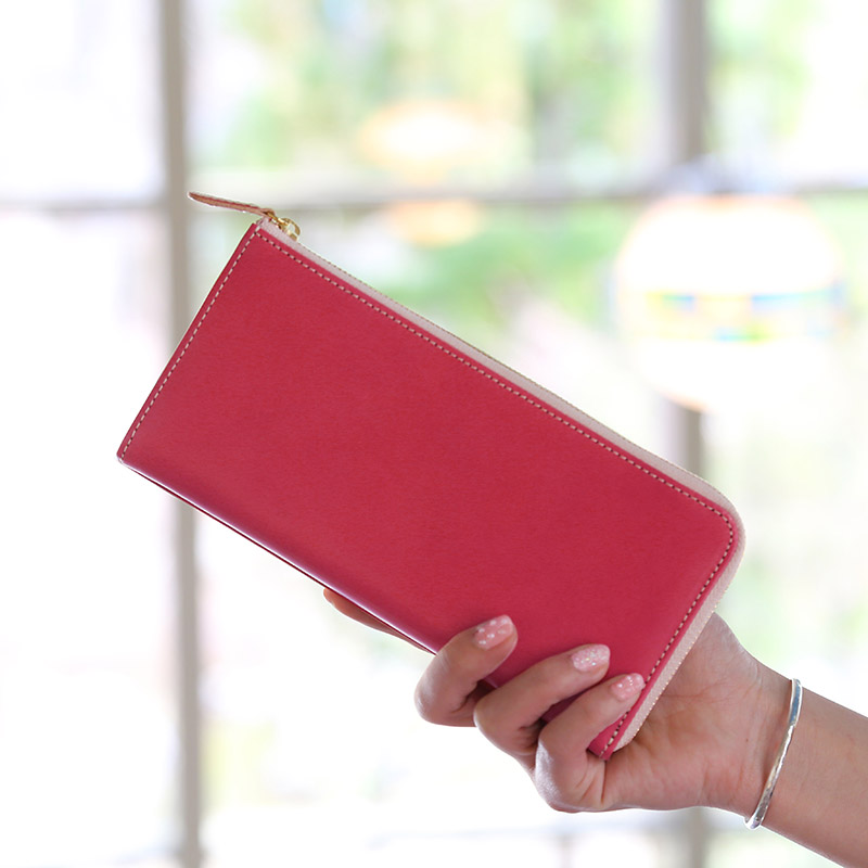 【レザージー/leather-g】イタリアンレザー長財布