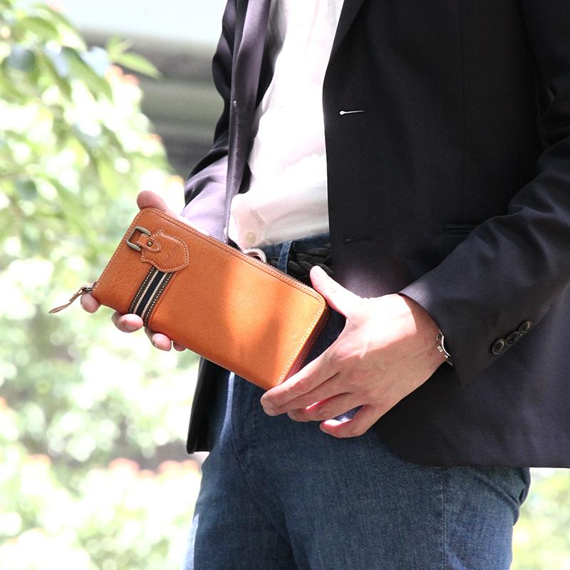 【VEOL/ヴェオル】イタリアンレザー長財布