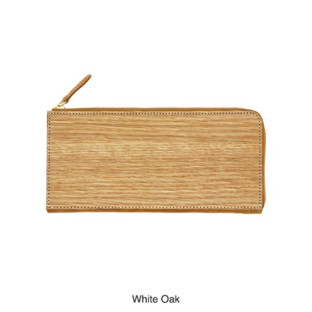 【art bio】木 長財布 ウッド ウォレット 日本製 ウェンジ オーク 自然 ナチュラル