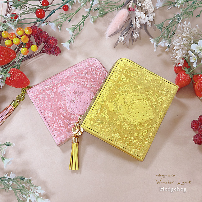 【ラマーレ/lamaree】ハリネズミのコンパクト財布
