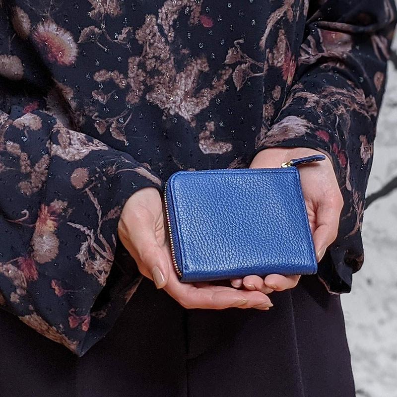 【レザージー/leather-g】Official限定 イタリアンレザー財布