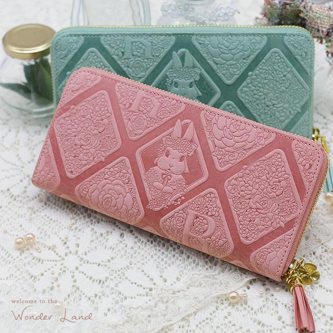 【ラマーレ/lamaree】うさぎの長財布