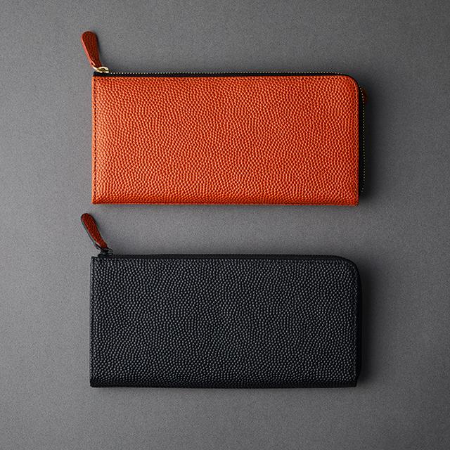 【レザージー/leather-g】バスケ革の長財布 メンズ レディース